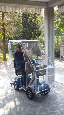 CAPOTTINE per Scooter Elettrici per Anziani e Disabili  1e4e0274fa55